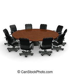 会議テーブル, ラウンド