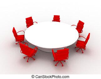 会議テーブル