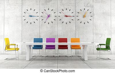 会議室, カラフルである