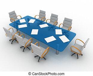 会議室, 3d