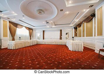 会議, スタイル, 部屋, クラシック