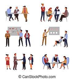 会議, ビジネス, 従業員, 上司, チームワーク, co-working, プレゼンテーション, ∥あるいは∥