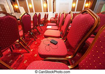 会議, ホテル, 贅沢, 部屋