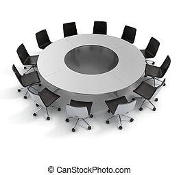 会議, 外交, 円卓