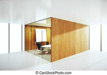 会議, 抽象的, 部屋