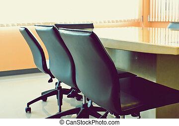 会議, 椅子, ミーティング部屋, テーブル