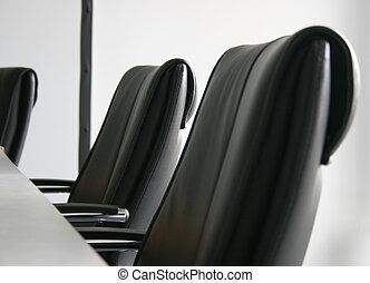 会議, 椅子, 部屋