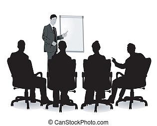 会議, 講義