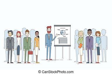 会議, 金融, グループ, ビジネス 人々, プレゼンテーション, チャート, とんぼ返り, businesspeople, チーム, 訓練, ミーティング