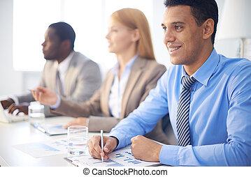会議, businesspeople