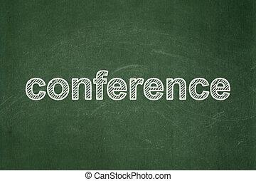 会議, concept:, 背景, 黒板, ビジネス