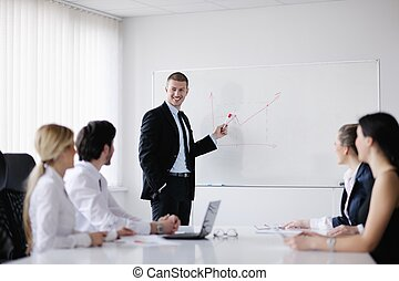 会议, 商业办公室, 人们