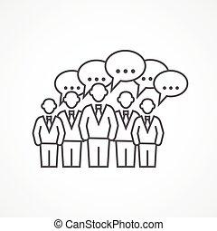 会议, 商业, 图标