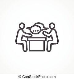 会议, 图标