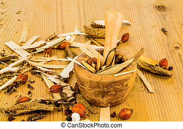 伝統的である, お茶, 薬, 中国語