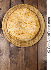 伝統的である, ウズベク, flatbread