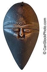 伝統的である, マスク, アフリカ, -, モロッコ