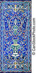 伝統的である, モスク, 装飾, セラミックス