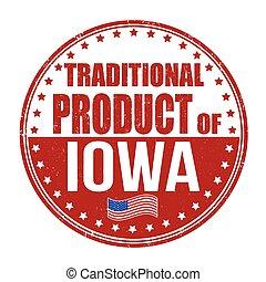 伝統的である, 切手, プロダクト, アイオワ