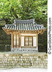 伝統的である, 家, 韓国, ソウル, 南
