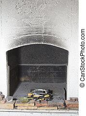 伝統的である, 暖炉, bbq