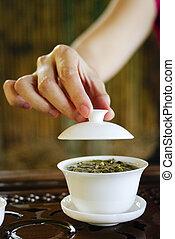 伝統的である, 陶磁器, お茶