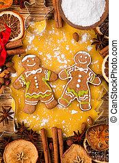 伝統的である, gingerbread