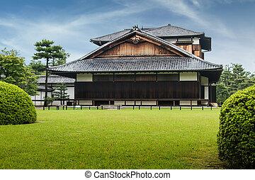 伝統的である, japan., 日本語, 京都, 建築