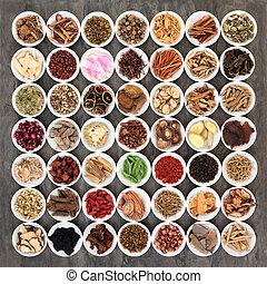 伝統的な薬, 中国語