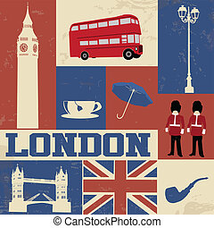 伦敦, 符号, 海报