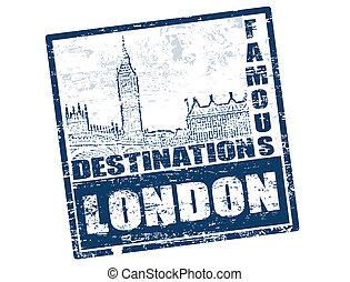 伦敦, 邮票