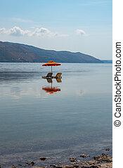 位置, ギリシャ, 3, kefalonia, 傘