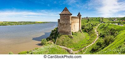 位置, 著名的地方, khotyn, 西方, 烏克蘭, europe., 美麗, world.