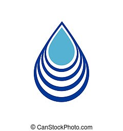 低下, 白, 抽象的, ロゴ, 印, シンボル, 水, 背景