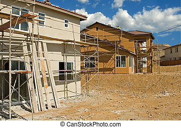 住宅の, 建設