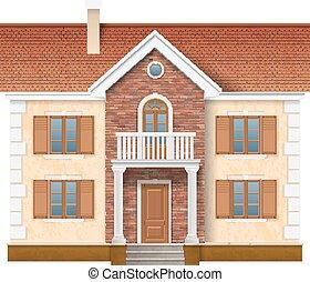 住宅の, 物語, 2, 家