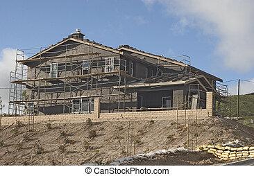 住宅の, constru