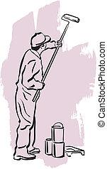 住宅塗装業者