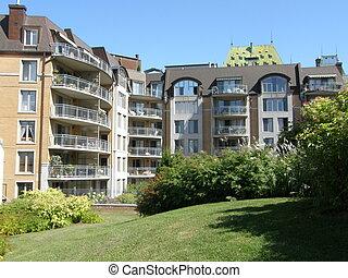 住宅, ケベック 都市