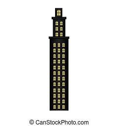 住宅, タワー, 床, いくつか