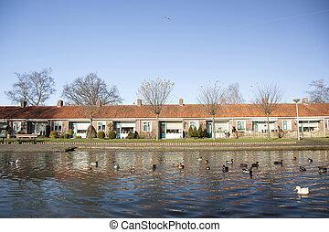 住房, 老, 荷蘭, 人們
