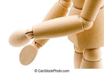 体の部位, 模造