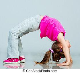 体操選手, 女の子