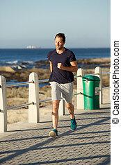 体, 外, スポーツ, 人, フルである, 動くこと, 健康