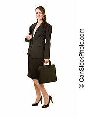 体, 女性ビジネス, フルである