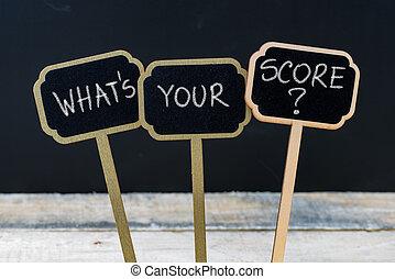 何か, ビジネス, スコア, メッセージ, あなたの, main