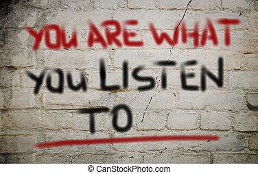 何か, 概念, あなた, 聞きなさい