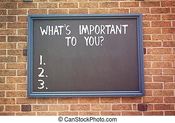 何か, 概念, 単語, objectives., ビジネス, テキスト, priorities, 執筆, s, 重要, youquestion., 私達, 言いなさい, あなたの, ゴール
