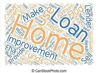 何か, 見るため, ∥ために∥, 中に, a, 住宅改善, ローン, 単語, 雲, 概念, テキスト, 背景