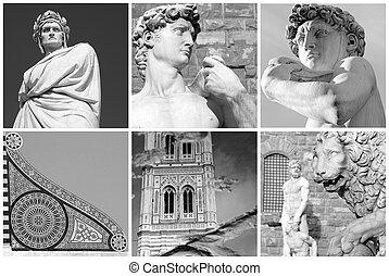 佛罗伦萨人, 艺术, 拼贴艺术